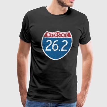 Interstate 26.2 - Men's Premium T-Shirt