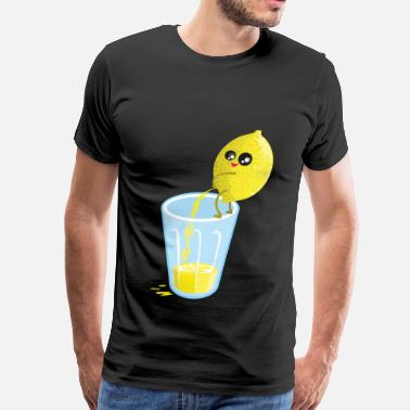 Pees lemon lemonade pee - Men's Premium T-Shirt