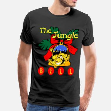 Jungle Apparel The Jungle Bell - Men's Premium T-Shirt