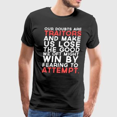 Doubts - Men's Premium T-Shirt