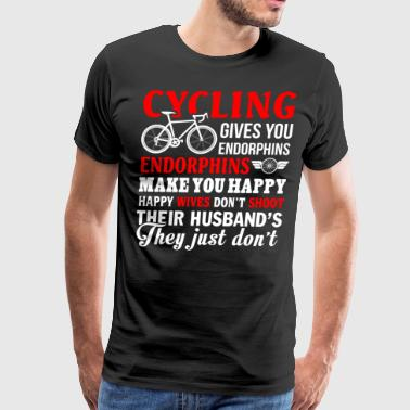 Cycling T Shirt - Men's Premium T-Shirt