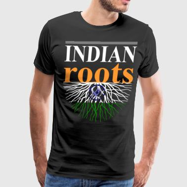 Indian Roots Tshirt - Men's Premium T-Shirt