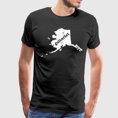 Lead Guitarist Shirt Alaska T Shirt Best Blues Guitar Shirt - Men's Premium T-Shirt