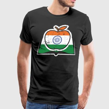 Teacher Super Teacher India Flag Indian Flag - Men's Premium T-Shirt