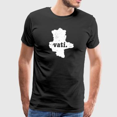 Saxony Germany Vati Dad - Men's Premium T-Shirt