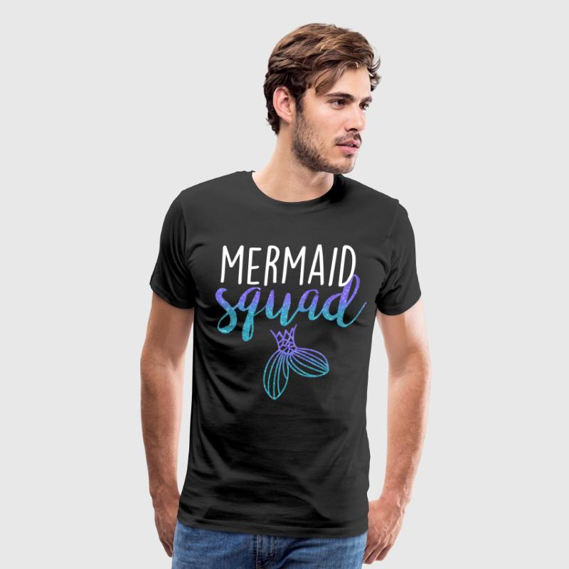 Mermaid Squad t-shirts - Men's Premium T-Shirt