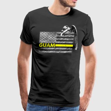 Guam Guam Police Dispatcher Flag Gifts Shirt - Men's Premium T-Shirt
