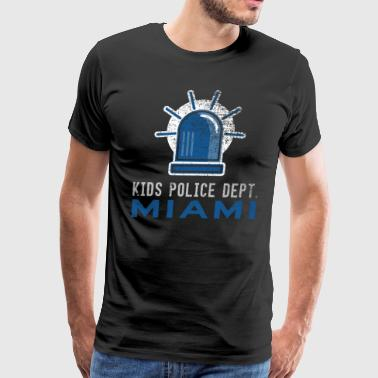 Future Police Officer Police Kids Miami Shirt - Men's Premium T-Shirt