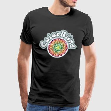 Color Blind COLOR BLIND - Men's Premium T-Shirt