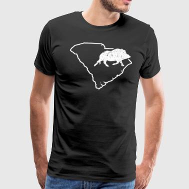 Ferral Hog Hunting South Carolina Wild Boar Hunter - Men's Premium T-Shirt