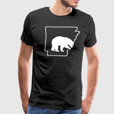 Black Bear Hunt Arkansas Bear Hunting Apparel - Men's Premium T-Shirt
