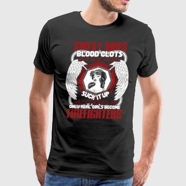 Girl's Become Firefighters T Shirt - Men's Premium T-Shirt