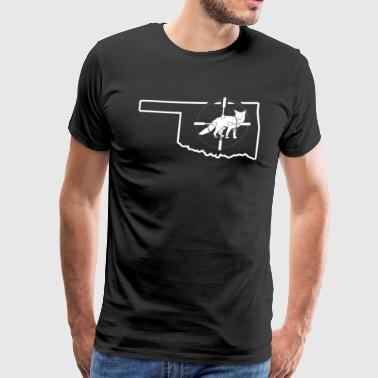 Hunt Fox Oklahoma Foxhound Shirt - Men's Premium T-Shirt