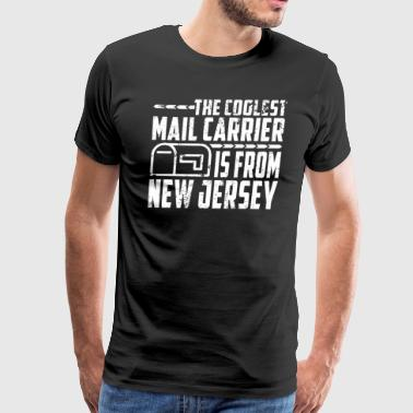 Mail Carrier Gifts New Jersey Mailman T Shirt Funny - Men's Premium T-Shirt