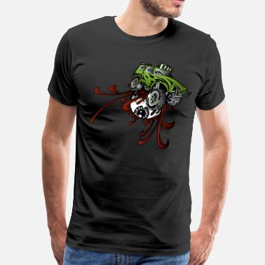Rupture Eyeball Rupture Truck - Men's Premium T-Shirt