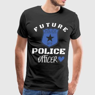 Future police department 911 police officer police - Men's Premium T-Shirt