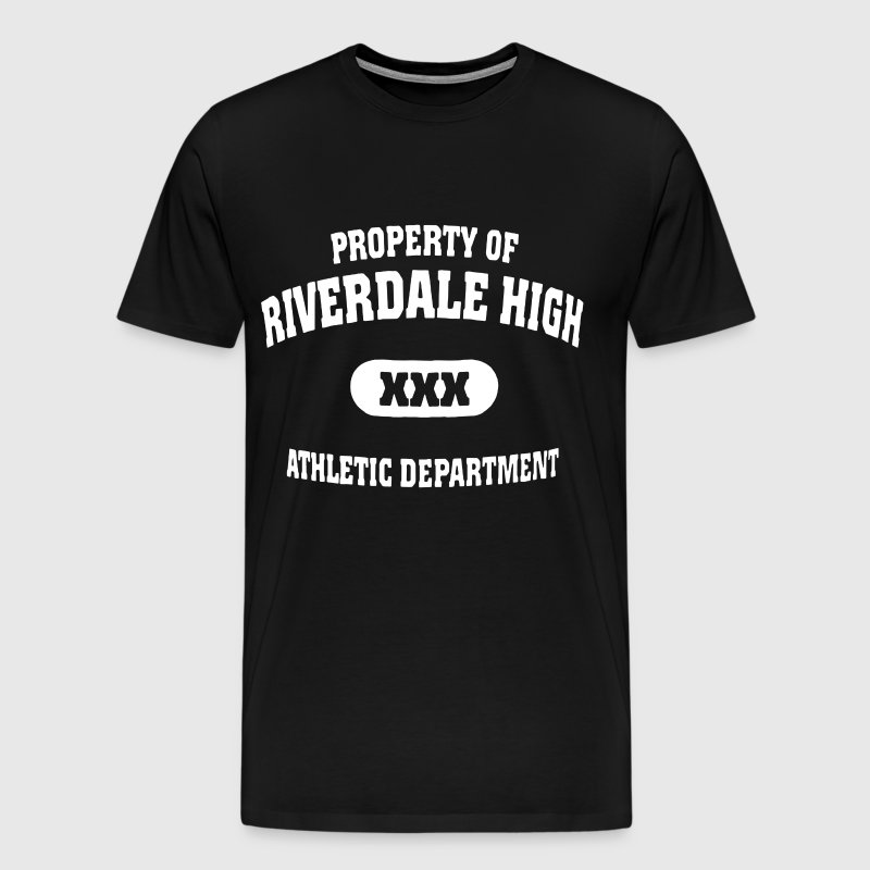 Property of riverdale high xxx athletic department - Men's Premium T-Shirt