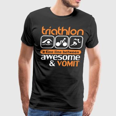 Triathlon Shirts - Men's Premium T-Shirt