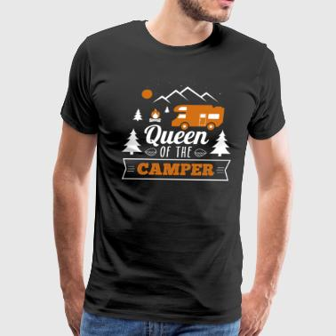 Queen Of The Camper - Men's Premium T-Shirt