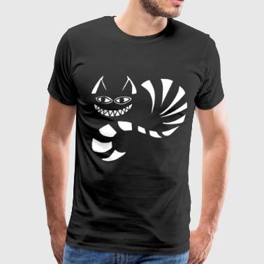 Alice In Wonderland Cheshire Cat Girls Tshirt Disn - Men's Premium T-Shirt