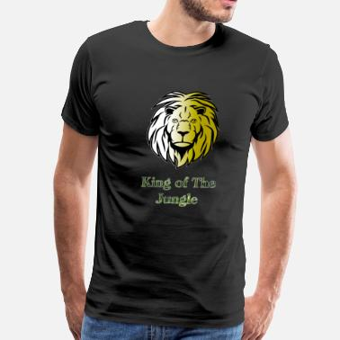 Jungle Apparel King of the jungle - Men's Premium T-Shirt