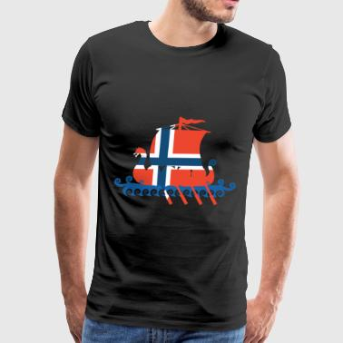 Norway Viking Norwegian lag Viking T Shirts - Men's Premium T-Shirt