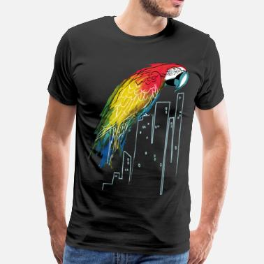 Polly in the City - Men's Premium T-Shirt