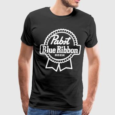 Pabst Blue Ribbon PABST BLUE RIBBON Milwaukee Beer Party Drink Game - Men's Premium T-Shirt