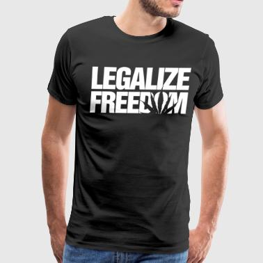 Legalize Freedom Kush Weed Hemp Norml Marijuana It - Men's Premium T-Shirt