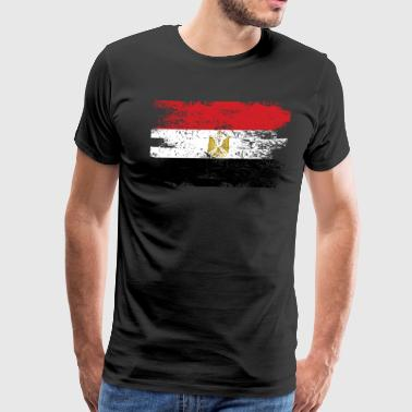 Egypt Shirt Gift Country Flag Patriotic Travel Africa Light - Men's Premium T-Shirt