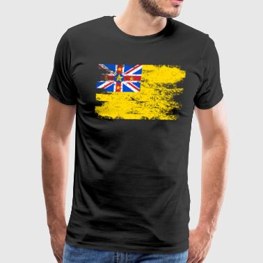 Niue Shirt Gift Country Flag Patriotic Travel Oceania Light - Men's Premium T-Shirt