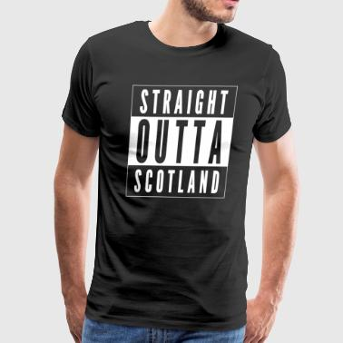Straight Outta Scotland - Men's Premium T-Shirt