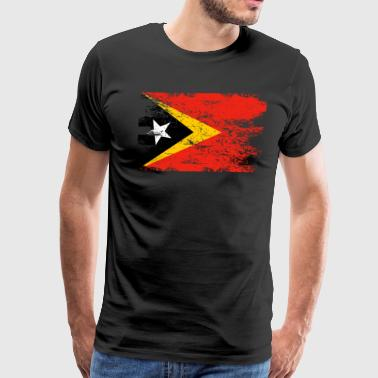 East Timor Shirt Gift Country Flag Patriotic Travel Asia Light - Men's Premium T-Shirt