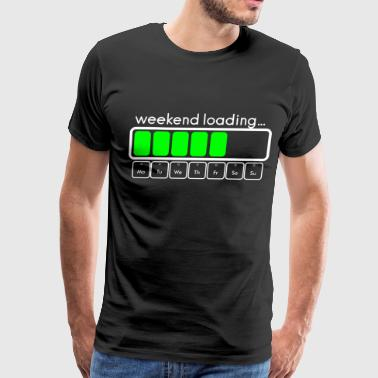 Weekend loading bar - Men's Premium T-Shirt