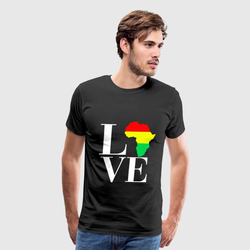 love africa people - Men's Premium T-Shirt