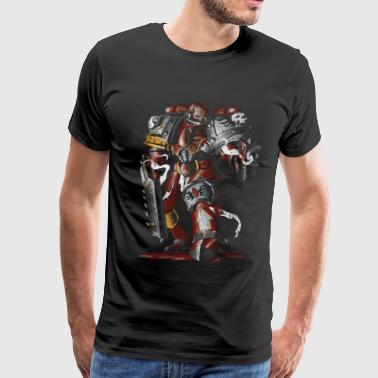 Astra Militarum Blood Ravens - Men's Premium T-Shirt