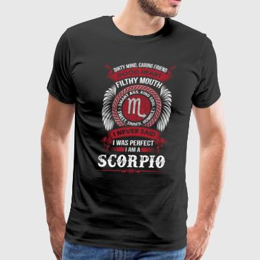 Scorpio Birthday Scorpio horoscope t shirt - Men's Premium T-Shirt