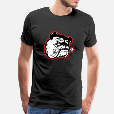 Georgia Bulldog Bulldog - Men's Premium T-Shirt