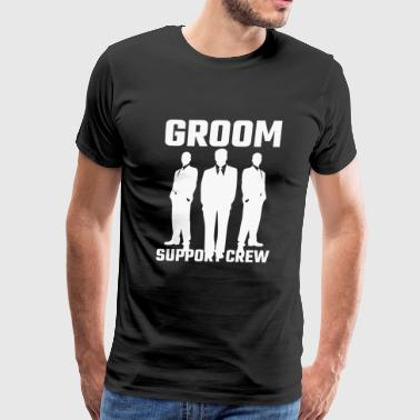 Attendant - Groom Support Crew - Men's Premium T-Shirt