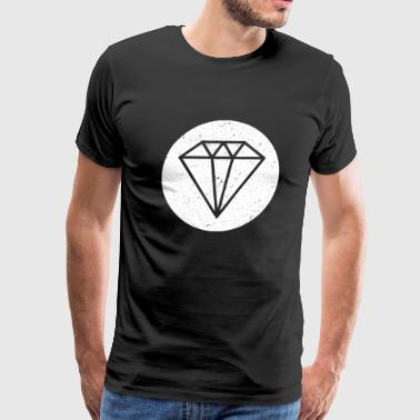 Diamond - Diamond - Men's Premium T-Shirt