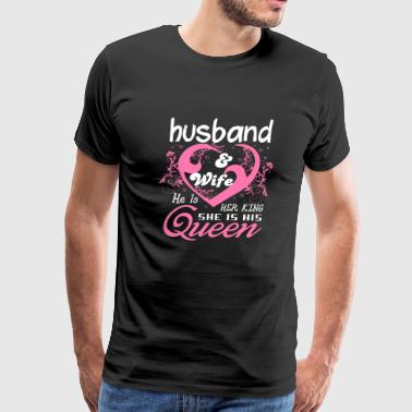 Husband Husband And Wife T Shirt - Men's Premium T-Shirt