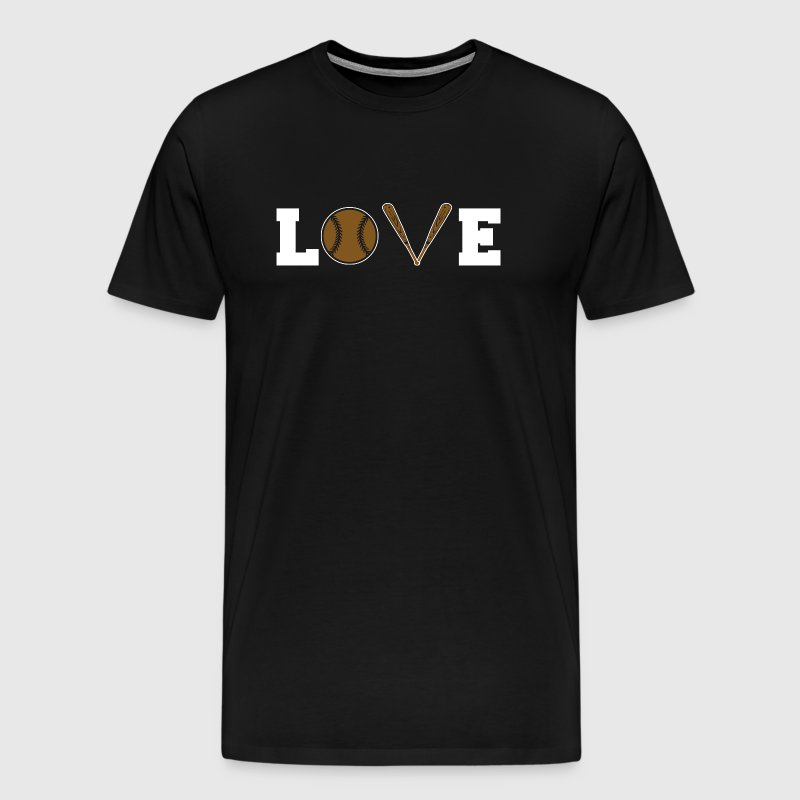 Baseball - Baseball Love - Men's Premium T-Shirt
