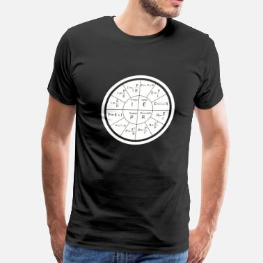Ohms Law Electrical - Ohm's Law Electrical Engineering - Men's Premium T-Shirt