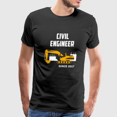 Civil Engineer - Civil Engineer Since 2017 - Men's Premium T-Shirt