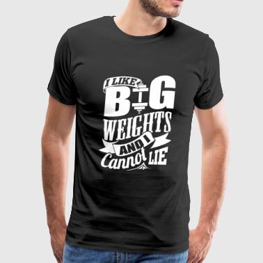 Weight - Weights - Men's Premium T-Shirt