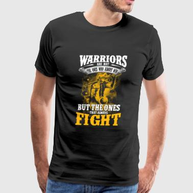 Warriors - The ones that always fight - Men's Premium T-Shirt