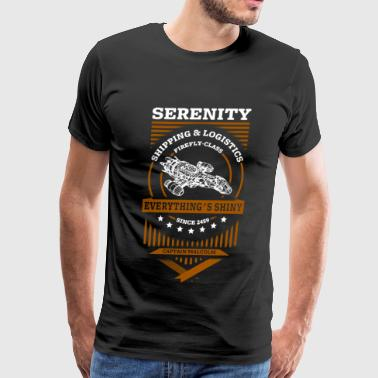 Captain Malcolm - Serenity, shipping and logisti - Men's Premium T-Shirt