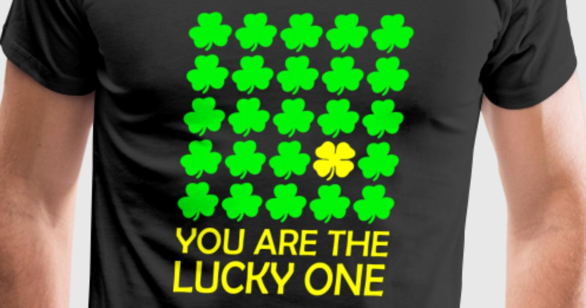 Irish Symbols You Are The Lucky One By Spreadshirt