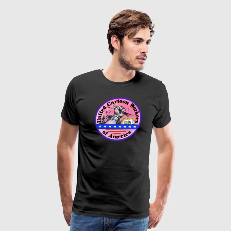 United Cartoon Workers of America - Men's Premium T-Shirt