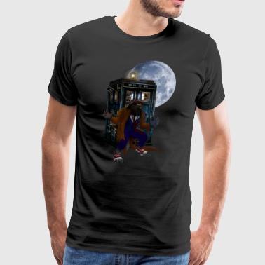 Werewolf at The Full moon T-shirt - Men's Premium T-Shirt
